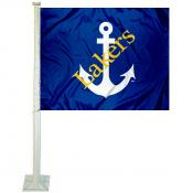 Lake Superior State Lakers Car Window Flag