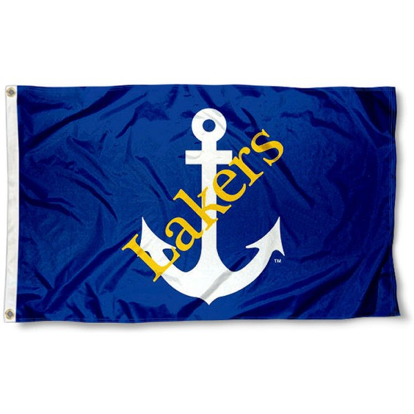 Lake Superior State Lakers Flag measures 3'x5', is made of 100% poly, has quadruple stitched sewing, two metal grommets, and has double sided Team University logos. Our LSSU Lakers 3x5 Flag is officially licensed by the selected university and the NCAA.