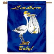 Lake Superior State Lakers New Baby Flag