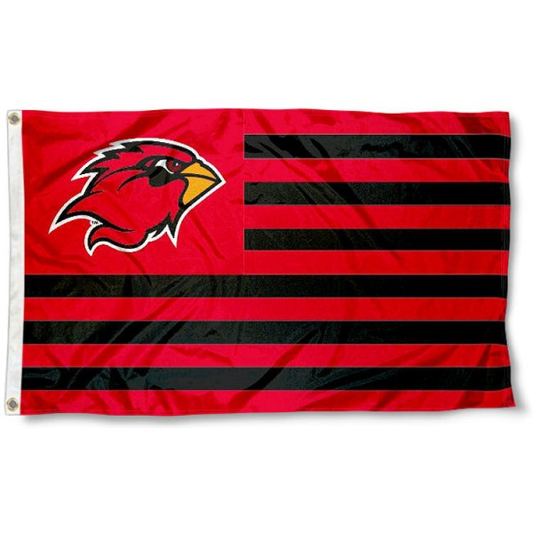 Lamar Cardinals Stripes Flag measures 3'x5', is made of polyester, offers double stitched flyends for durability, has two metal grommets, and is viewable from both sides with a reverse image on the opposite side. Our Lamar Cardinals Stripes Flag is officially licensed by the selected school university and the NCAA.