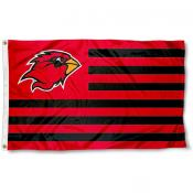 Lamar Cardinals Stripes Flag