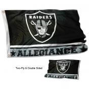 Las Vegas Raiders Allegiance Flag