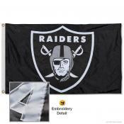 Las Vegas Raiders Embroidered Nylon Flag
