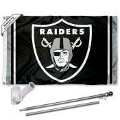 Las Vegas Raiders Flag Pole and Bracket Kit