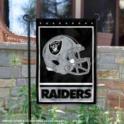 Las Vegas Raiders Football Garden Banner Flag