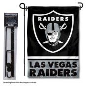 Las Vegas Raiders Garden Banner and Flag Stand