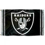 Las Vegas Raiders Logo Flag