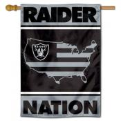 Las Vegas Raiders Nation Double Sided House Banner