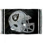 Las Vegas Raiders New Helmet Flag