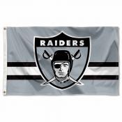 Las Vegas Raiders Throwback Retro Vintage Logo Flag