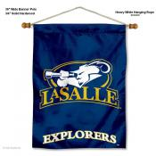 LaSalle Explorers Wall Banner