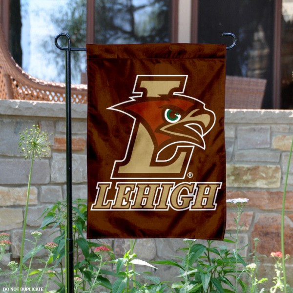 Lehigh Mountain Hawks Garden Flag is 13x18 inches in size, is made of 2-layer polyester, screen printed Lehigh University athletic logos and lettering. Available with Same Day Express Shipping, Our Lehigh Mountain Hawks Garden Flag is officially licensed and approved by Lehigh University and the NCAA.