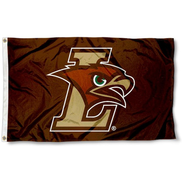 Lehigh University Flag Flag measures 3'x5', is made of 100% poly, has quadruple stitched sewing, two metal grommets, and has double sided Lehigh Mountain Hawks logos. Our Lehigh University Flag Flag is officially licensed by Lehigh Mountain Hawks and the NCAA.