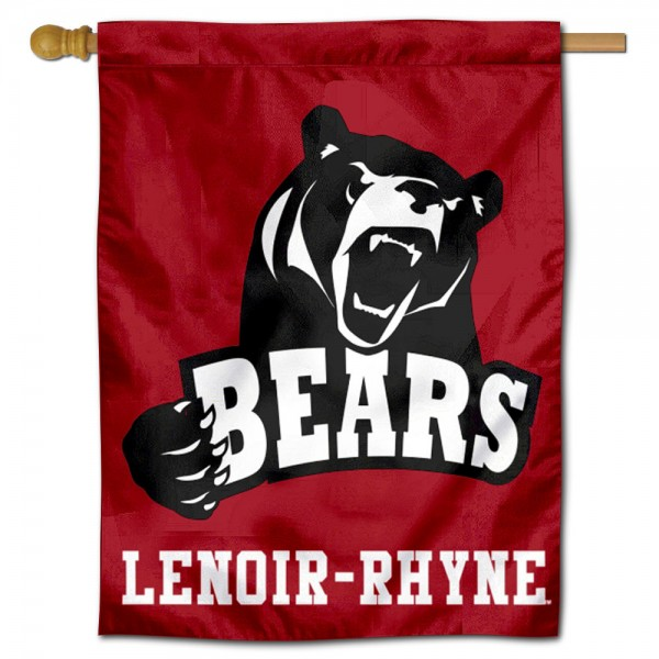 Lenoir Rhyne Bears Double Sided House Flag is a vertical house flag which measures 30x40 inches, is made of 2 ply 100% polyester, offers screen printed NCAA team insignias, and has a top pole sleeve to hang vertically. Our Lenoir Rhyne Bears Double Sided House Flag is officially licensed by the selected university and the NCAA.