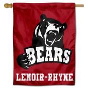 Lenoir Rhyne Bears Double Sided House Flag