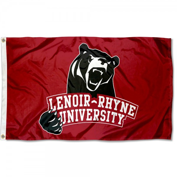 Lenoir Rhyne Bears Flag measures 3x5 feet, is made of 100% polyester, offers quadruple stitched flyends, has two metal grommets, and offers screen printed NCAA team logos and insignias. Our Lenoir Rhyne Bears Flag is officially licensed by the selected university and NCAA.