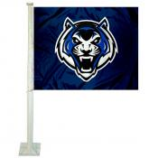 Lincoln Blue Tigers Logo Car Flag