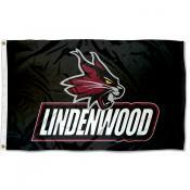 Lindenwood Lions Flag