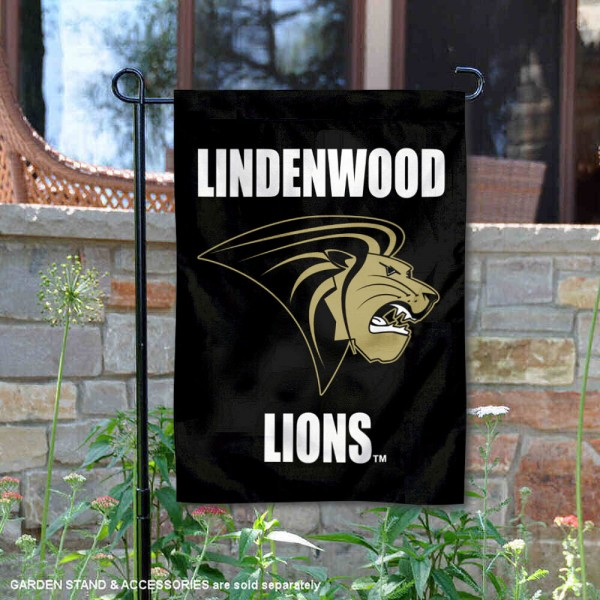 Lindenwood Lions Garden Flag is 13x18 inches in size, is made of 2-layer polyester, screen printed university athletic logos and lettering, and is readable and viewable correctly on both sides. Available same day shipping, our Lindenwood Lions Garden Flag is officially licensed and approved by the university and the NCAA.