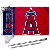 Los Angeles Angels Flag Pole and Bracket Kit