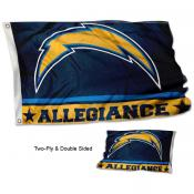 Los Angeles Chargers Allegiance Flag