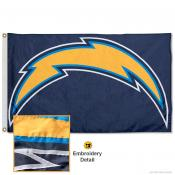 Los Angeles Chargers Embroidered Nylon Flag