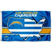 Los Angeles Chargers USA Country Flag