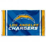 Los Angeles Chargers Wordmark Flag