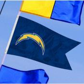 Los Angeles Chargers Yacht Flag
