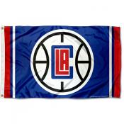 Los Angeles Clippers Block C Logo 3x5 Flag