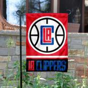 Los Angeles Clippers Garden Flag