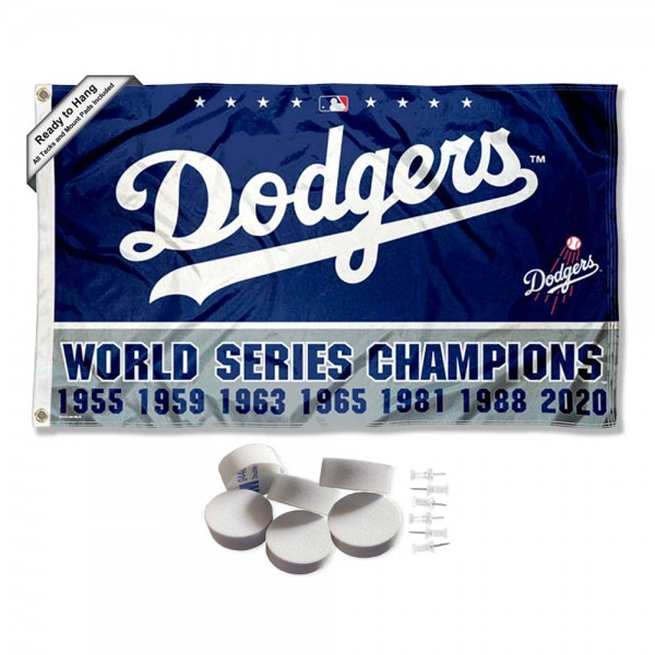 Our Los Angeles Dodgers Tack Wall Pads is double sided, made of poly, 3'x5', has two metal grommets, indoor or outdoor, and four-stitched fly ends. These Los Angeles Dodgers Tack Wall Padss are Officially Approved by the Boston Bruins. Tapestry Wall Hanging Tack Pads which include a 6 pack of banner display pads with 6 tacks allowing you to hang your pennant on any wall damage-free.