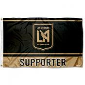 Los Angeles FC Supporter 3x5 Foot Logo Flag