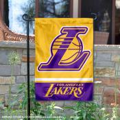 Los Angeles Lakers Wordmark Double Sided Garden Flag