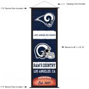 Los Angeles Rams Decor and Banner
