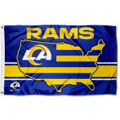 Los Angeles Rams USA Country Flag