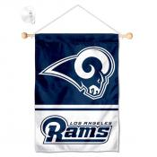 Los Angeles Rams Window and Wall Banner