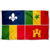 Louisiana Creoles Flag