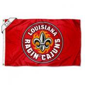 Louisiana Lafayette Ragin Cajuns Large 6'x10' Flag