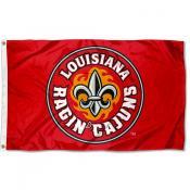 Louisiana Lafayette Rajun Cajuns Fleur Logo Flag