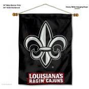 Louisiana Lafayette Rajun Cajuns Wall Banner
