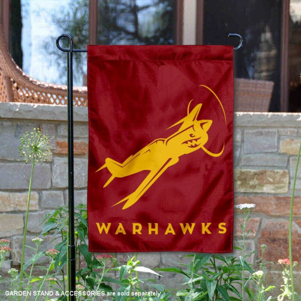 Louisiana Monroe Warhawks Plane Garden Flag is 13x18 inches in size, is made of 2-layer polyester, screen printed university athletic logos and lettering, and is readable and viewable correctly on both sides. Available same day shipping, our Louisiana Monroe Warhawks Plane Garden Flag is officially licensed and approved by the university and the NCAA.