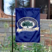 Louisiana State Alexandria Generals Garden Flag