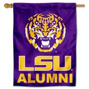 Louisiana State LSU Tigers Alumni Double Sided House Flag