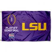 Louisiana State LSU Tigers CFP College Football Playoff Semifinal Game Flag