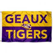 Louisiana State LSU Tigers Geaux Tigers Flag