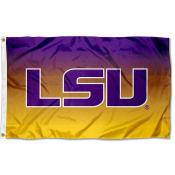 Louisiana State LSU Tigers Gradient Ombre Flag
