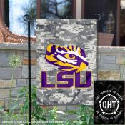 Louisiana State LSU Tigers Operation Hat Trick Garden Flag