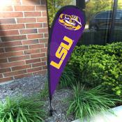 Louisiana State LSU Tigers Small Feather Flag