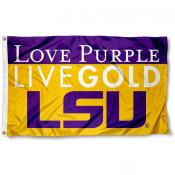 Louisiana State Tigers Love Purple Flag
